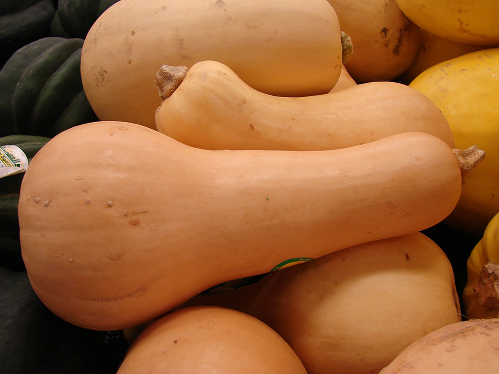 Check the color of Butternut squash