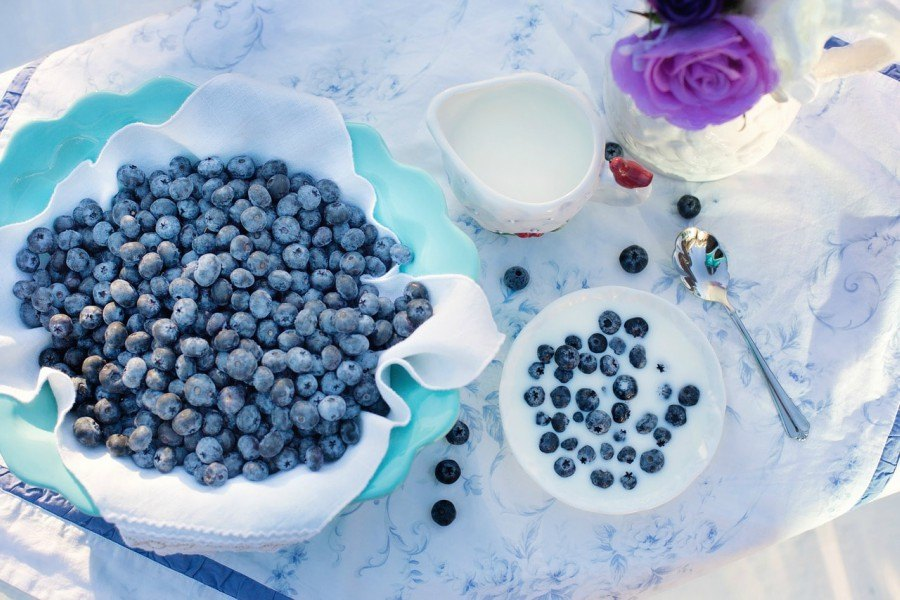 blueberries are ranked as one of the fruits that have the highest vitamins and antioxidants