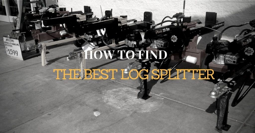 Best Log Splitter REviews 2016 - 2017