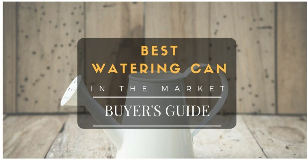Best watering can reviews in the market
