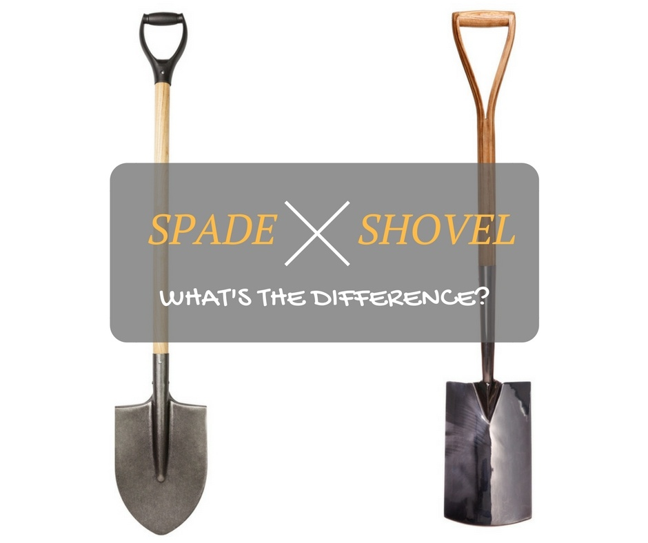 spade vs shovel: What's the difference?