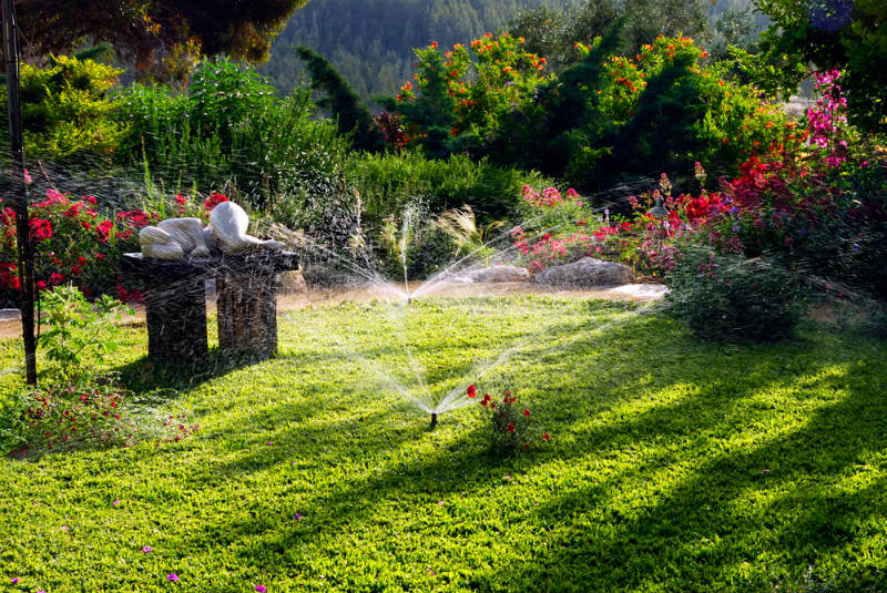 Places and Times Where You Can Run the Sprinklers