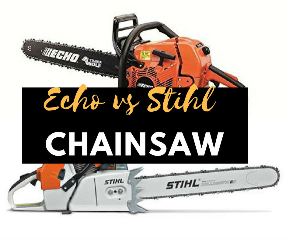 What is the different between Echo vs Stihl