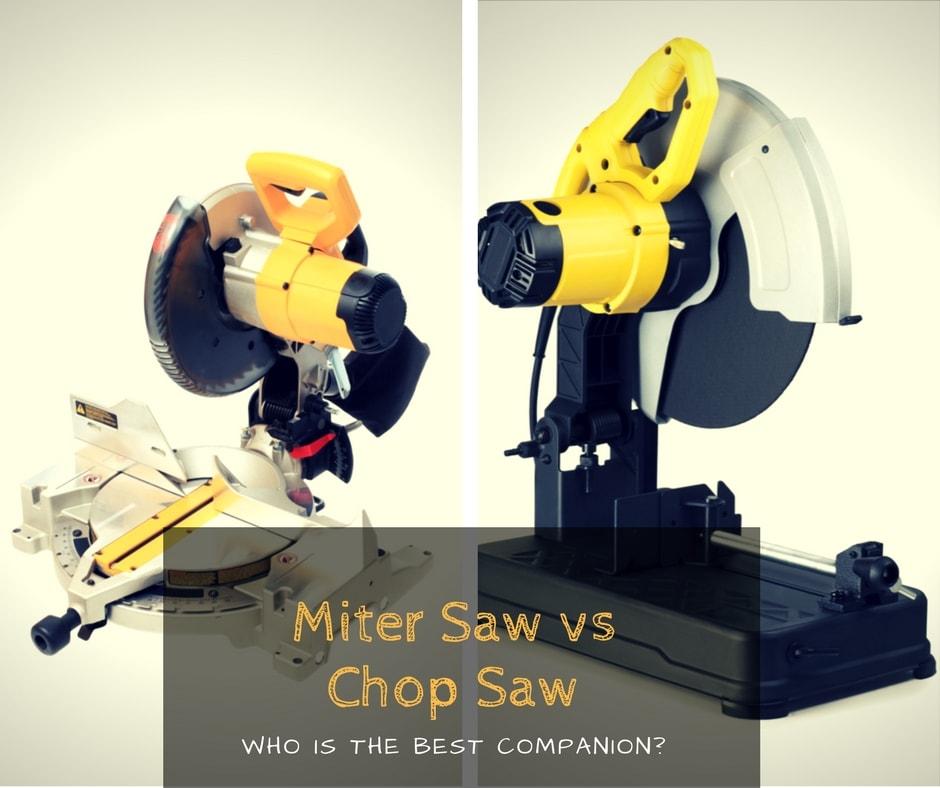Miter saw vs Chop saw