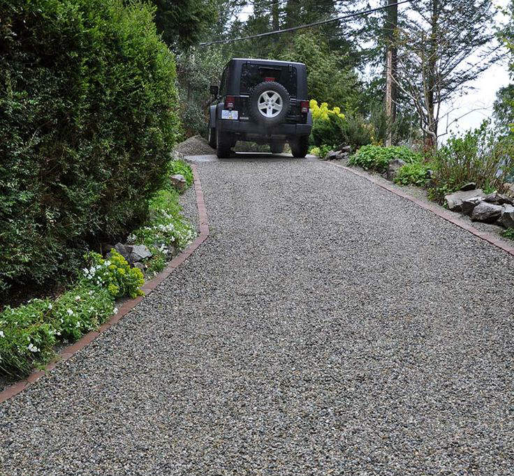 Weed Barrier Under a Gravel Driveway