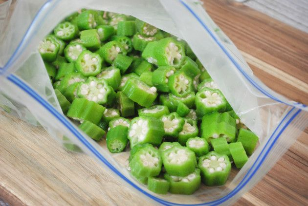 Freezing okra is something every gardener and cook should know how to do