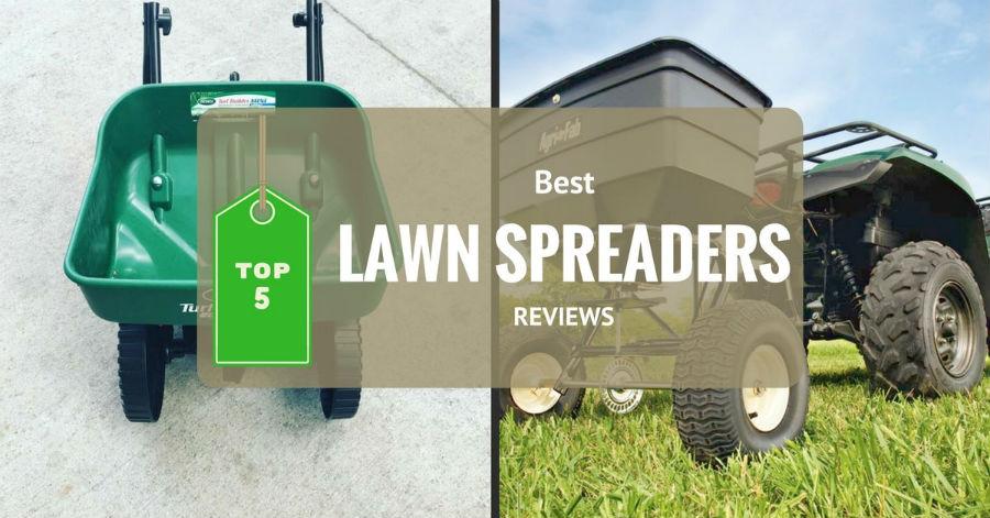 best lawn spreader reviews