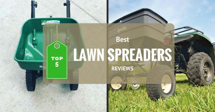 best lawn spreader reviews