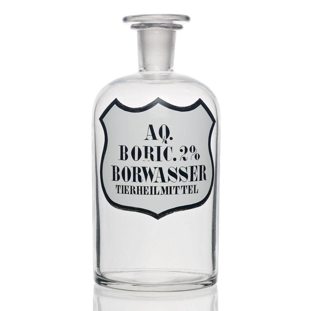 how to make boric acid from borax