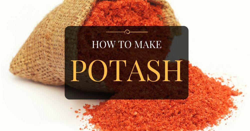 How To Make Potash Fertilizer