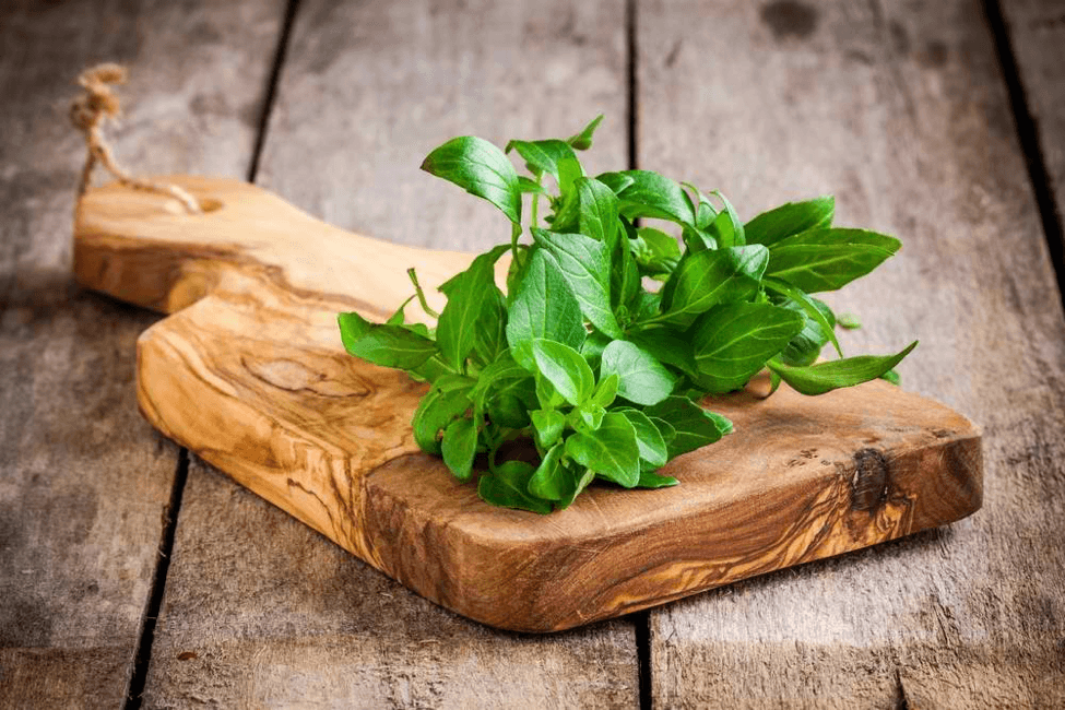 Fresh organic basil can add an aromatic flavor to your dishes.