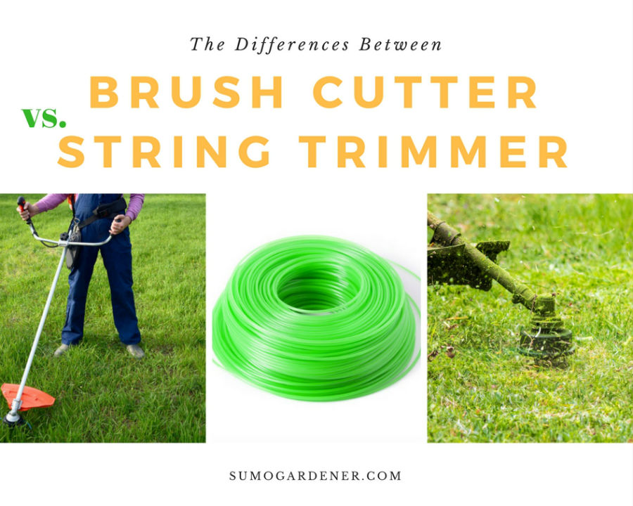 Brush cutter vs. string trimmer: What're the differences