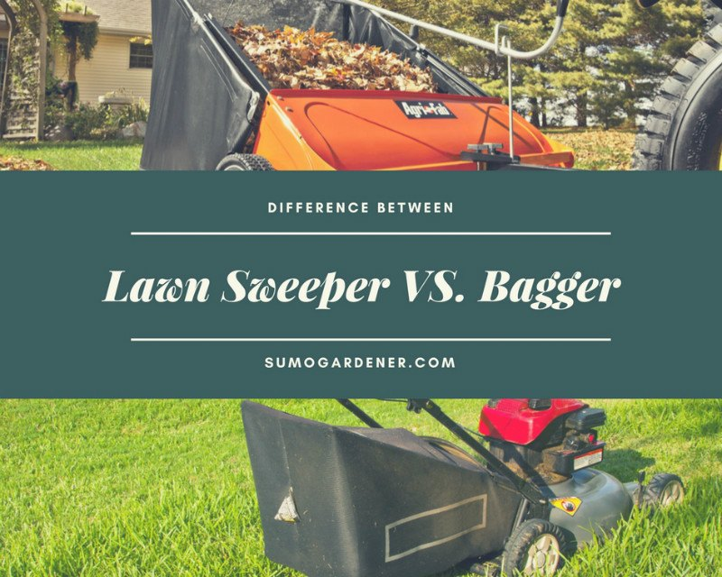 law sweeper vs bagger