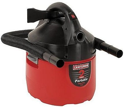 Turn shop-vac to blow