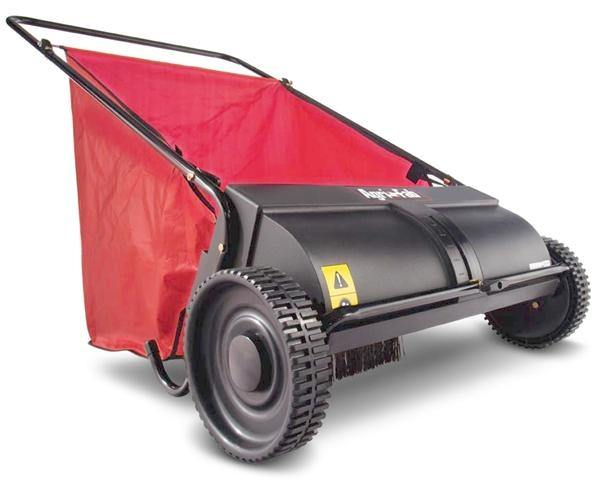 Choose type of push lawn sweeper