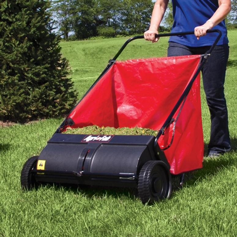 Why you should choose a push lawn sweeper