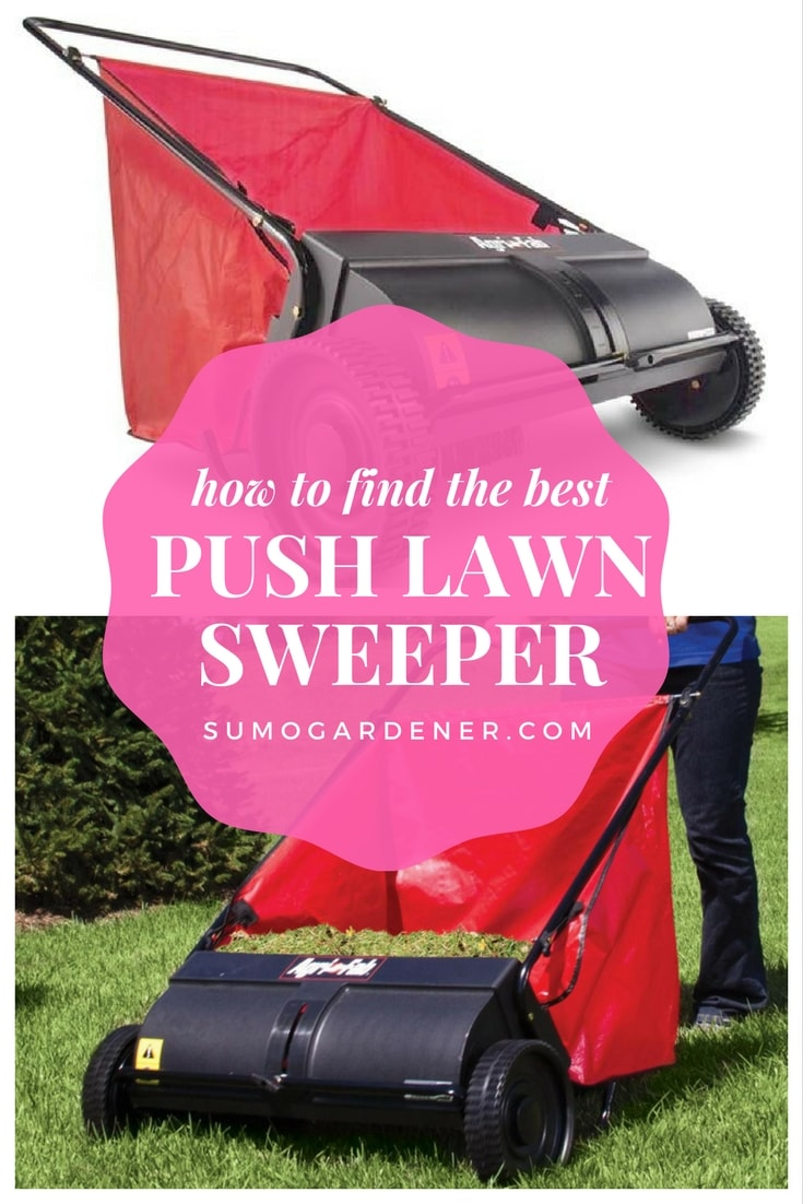 best push lawn sweeper