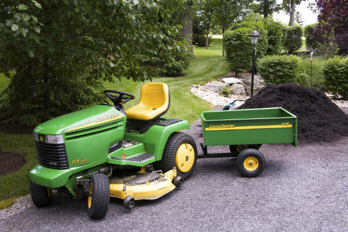 a garden tractor is built sturdily yet light weight it can easily operate and has different attachments to make the job easier for the user - Best Garden Tractor
