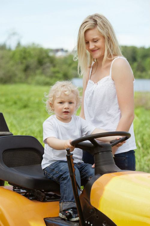 Tips for Safe Garden Tractor Operation