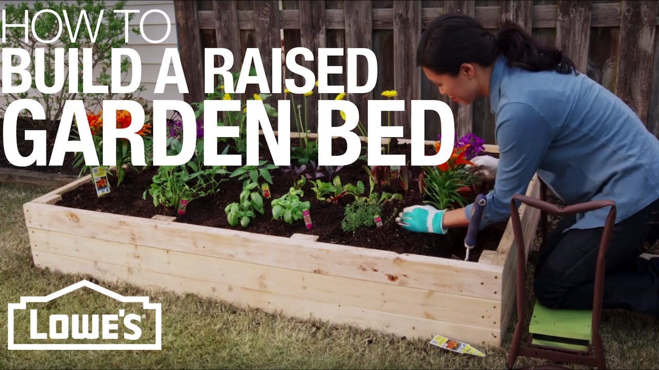 DIY Raised Garden Beds - Lowes