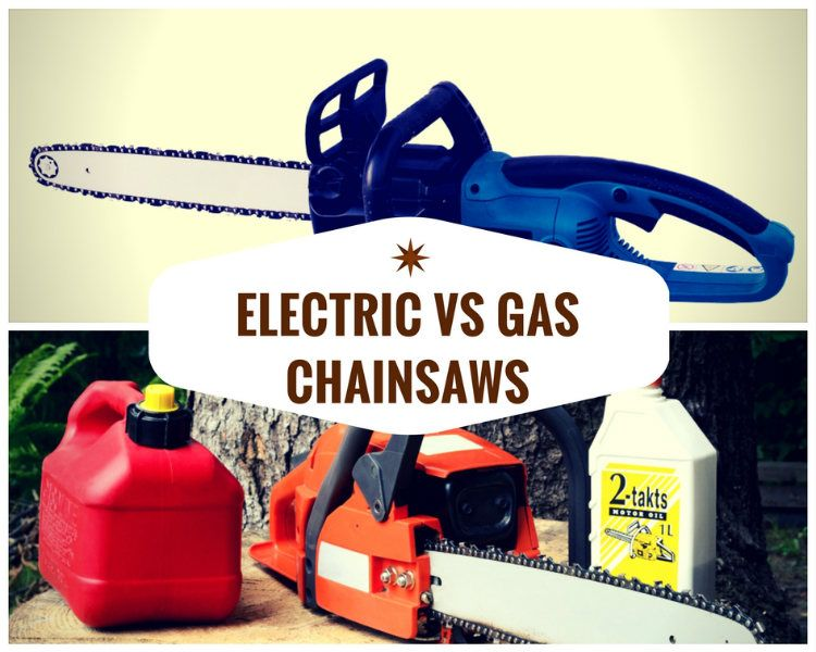 What is the Difference Between Electric VS Gas Chainsaws?