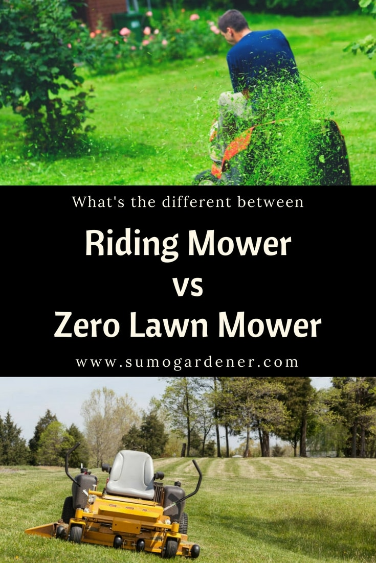 Riding Mower vs Zero Lawn Mower-min