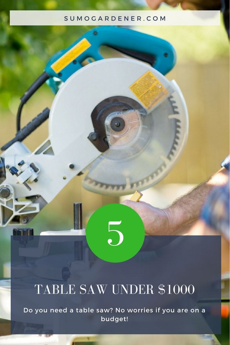 TOP 5 TABLE SAW UNDER 1000