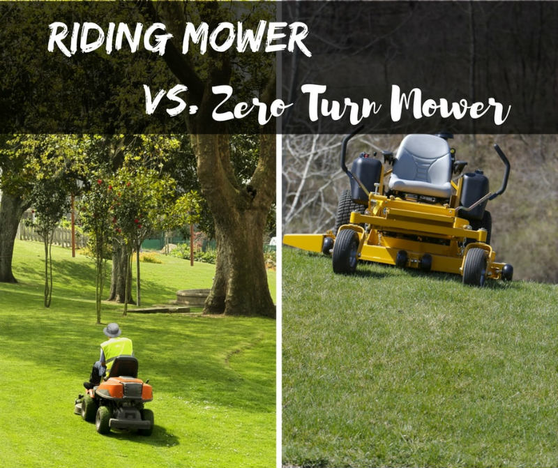 Riding Mower vs Zero Lawn Mower