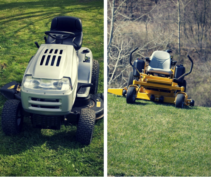 Zero turn mower vs garden tractor