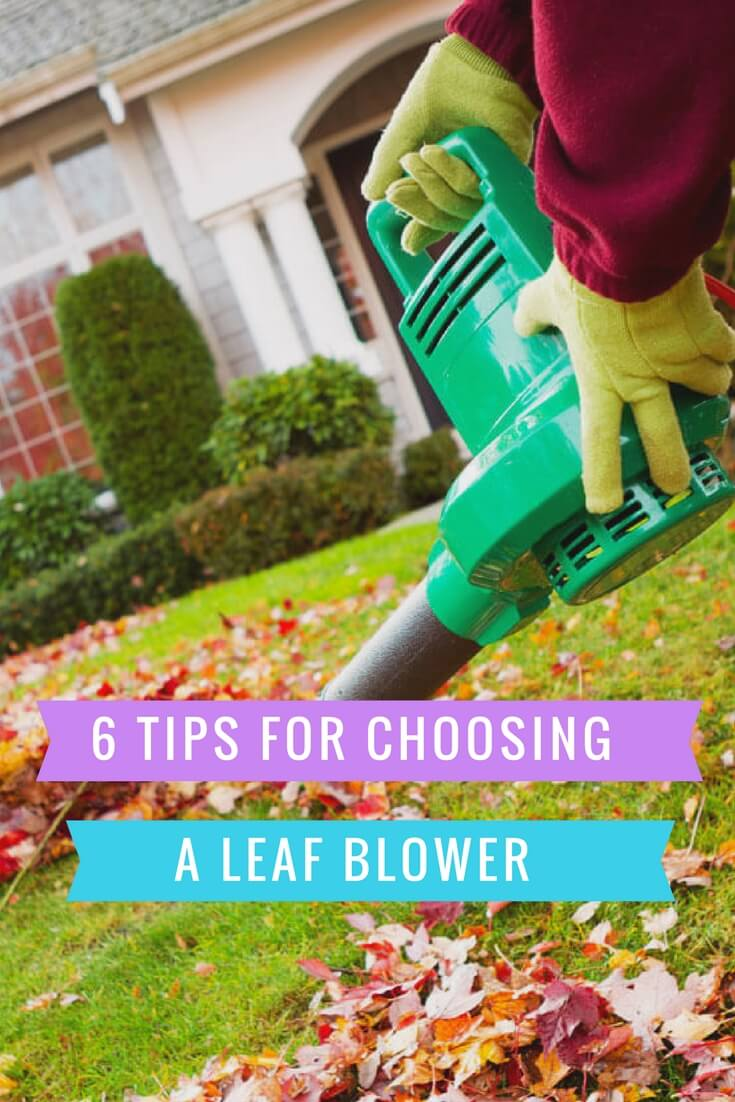 6 tips for choosing a leaf blower