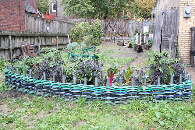 Re-use old or broken garden hose