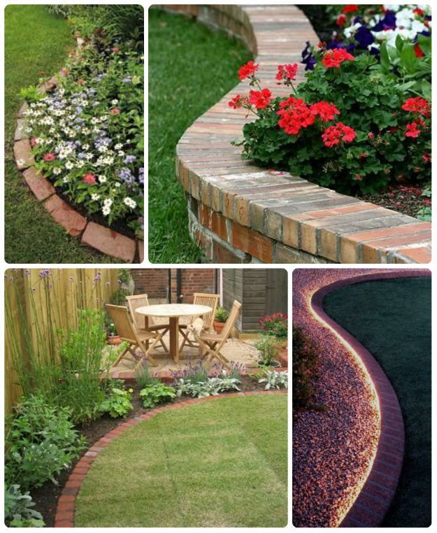 Flower beds Edging Ideas