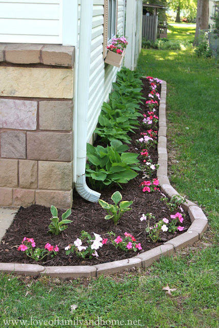 Side Yard Edging