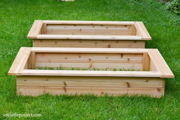 Non-Edge Garden Beds