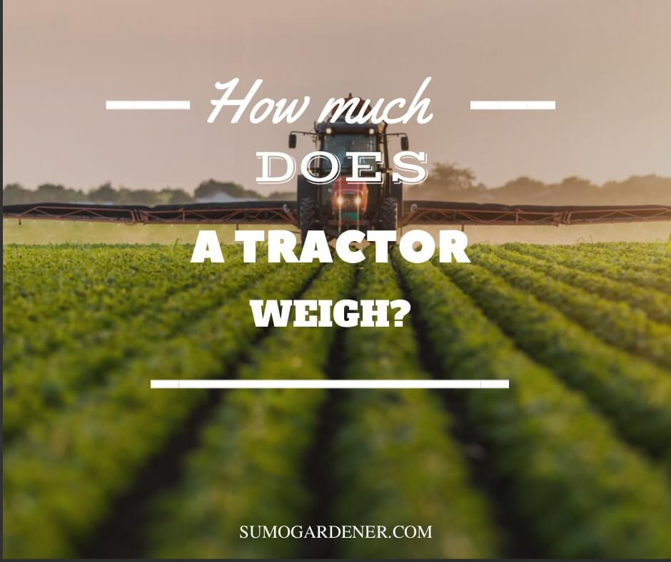 How much does a tractor weigh?