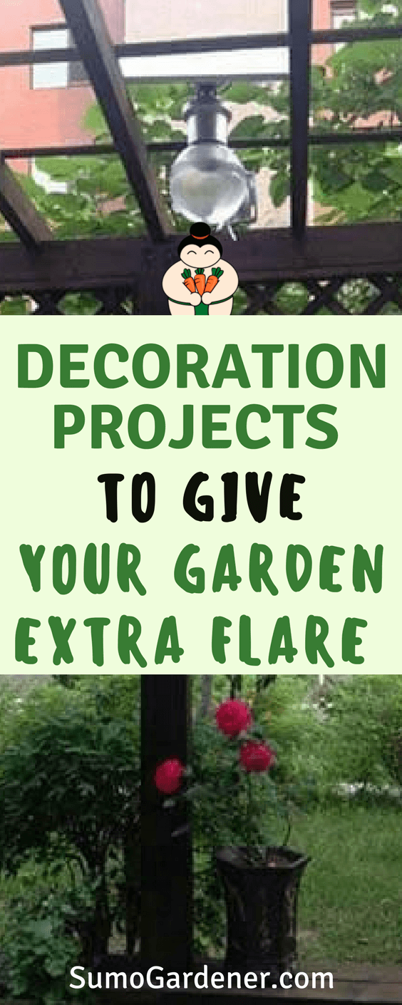 Decoration Projects To Give Your Garden Extra Flare