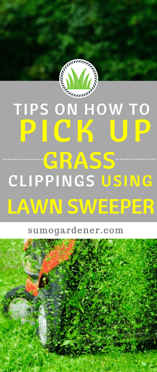 If there are just too many grass clippings, then it would be best to know how to pick them up using a lawn sweeper. Below are the useful tips on how to pick up grass clippings to keep your lawn tidy
