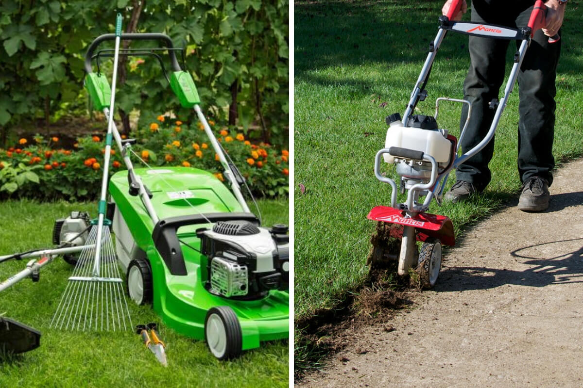 Choose the right lawn tools