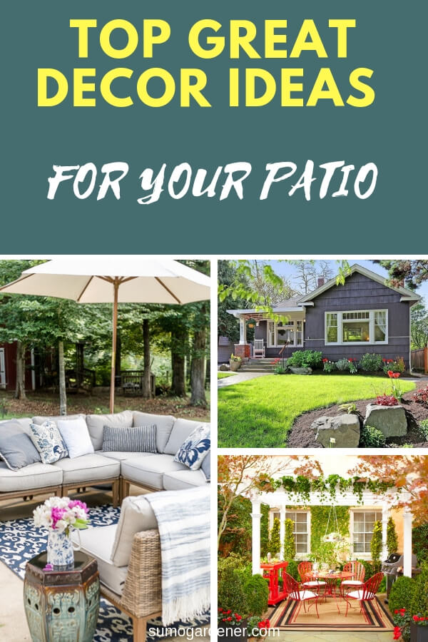 Patio decor ideas