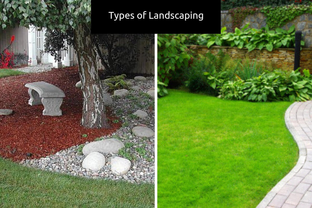 Types of landscaping