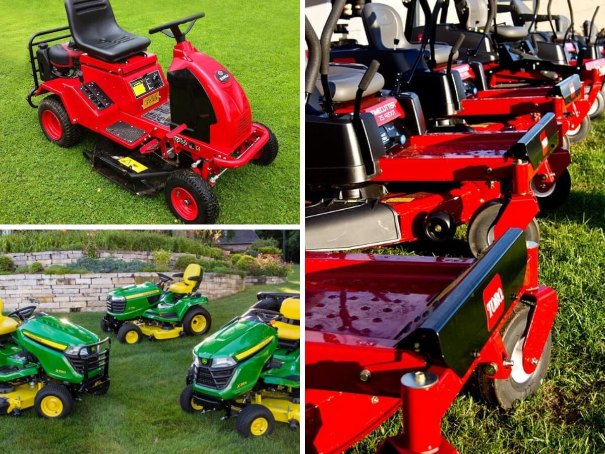 Riding lawn mower buying guide
