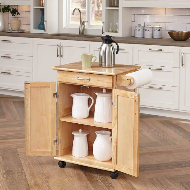 portable kitchen cart in the market