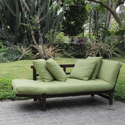 Outdoor seating gives you a great reason to spend time outside