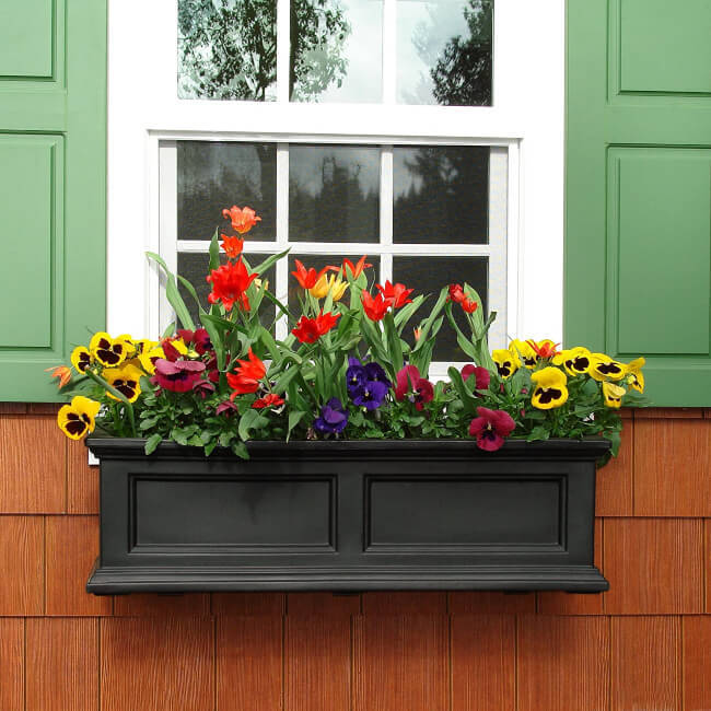 Window boxes for small gardens