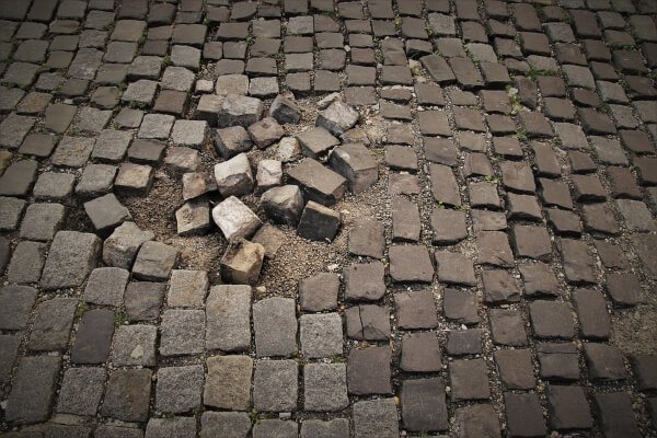 Concrete pavers are renowned for their compressive strength