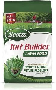 Scotts Turf Building Lawn Food Best Fertilizer