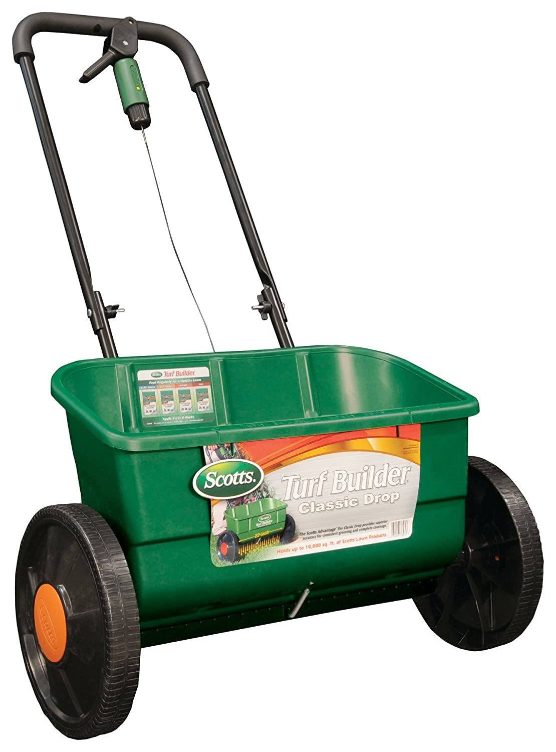 Scotts best lawn drop fertilizer spreader in 2020