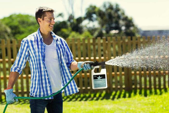 Balanced 16-4-8 Nutrient Liquid Fertilizer for your lawn