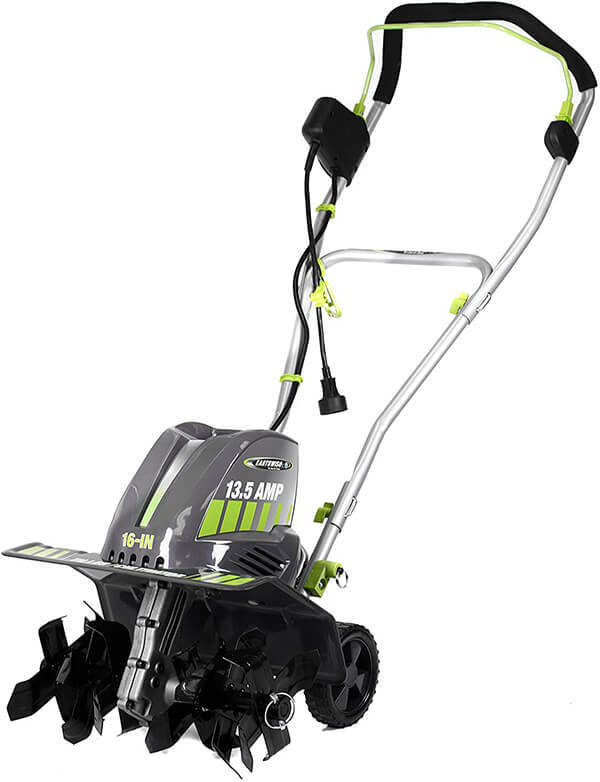 Earthwise TC70016 16-Inch 13.5-Amp Corded Electric Tiller Cultivator