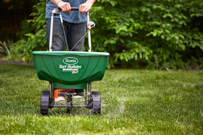 Fertilizer Spreader is worth it if you have a large lawn area